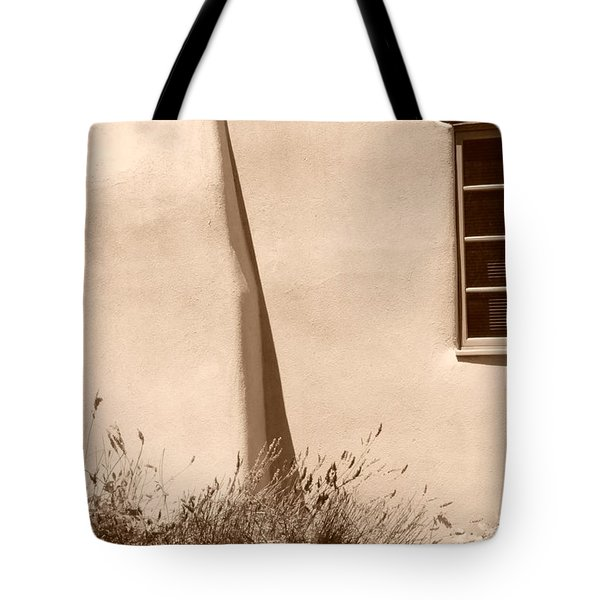 Tote Bag featuring the photograph Shadows And Light In Santa Fe by Susie Rieple