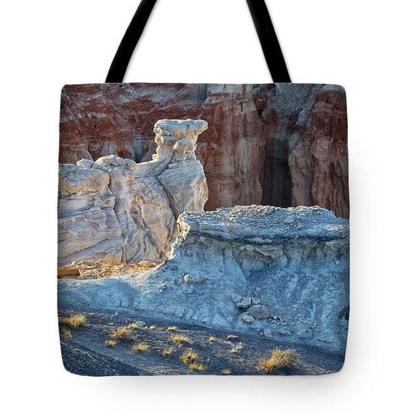 Shadows At Coal Mine Canyon Tote Bag
