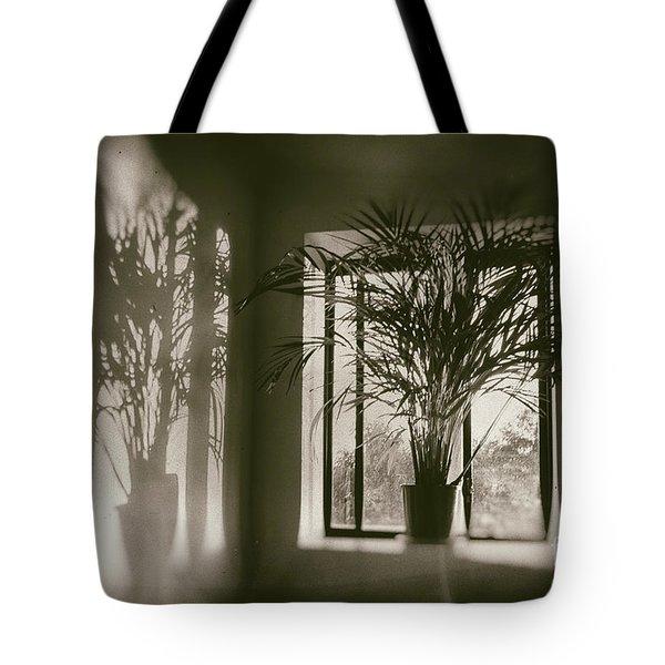 Shadows Dance Upon The Wall Tote Bag
