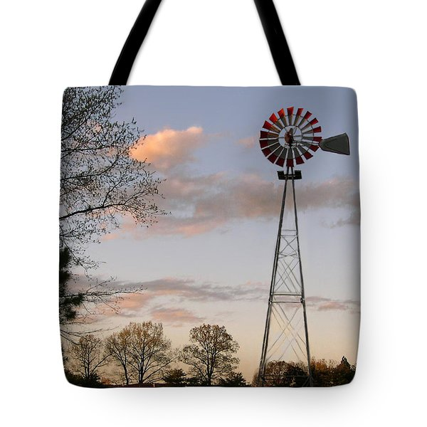 Tote Bag featuring the photograph Shadows Fall  by Bonnie Willis
