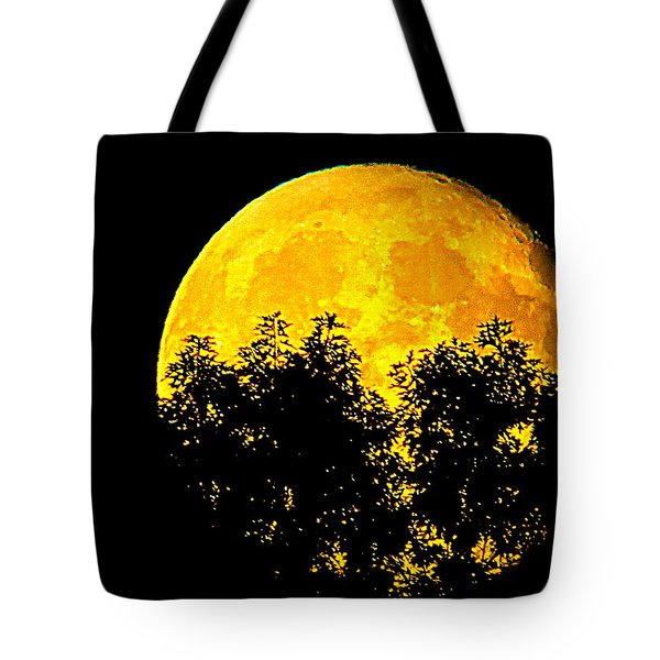 Shadows In The Moon Tote Bag