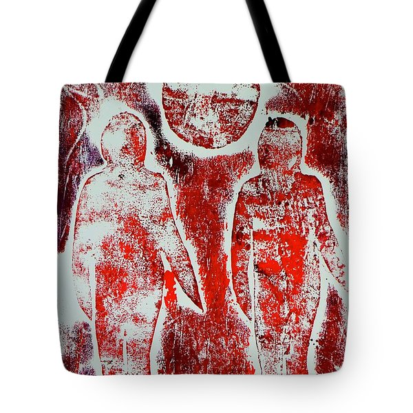 Shadows In The Sun  Tote Bag
