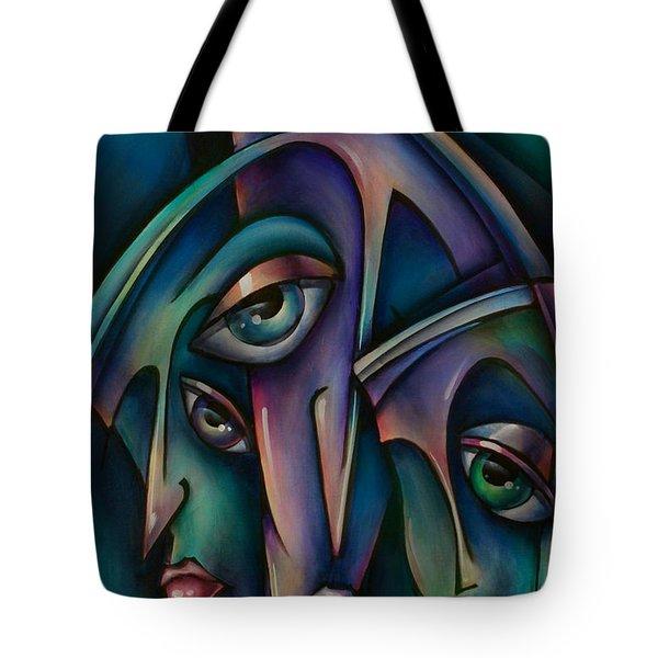 Shadows Tote Bag by Michael Lang