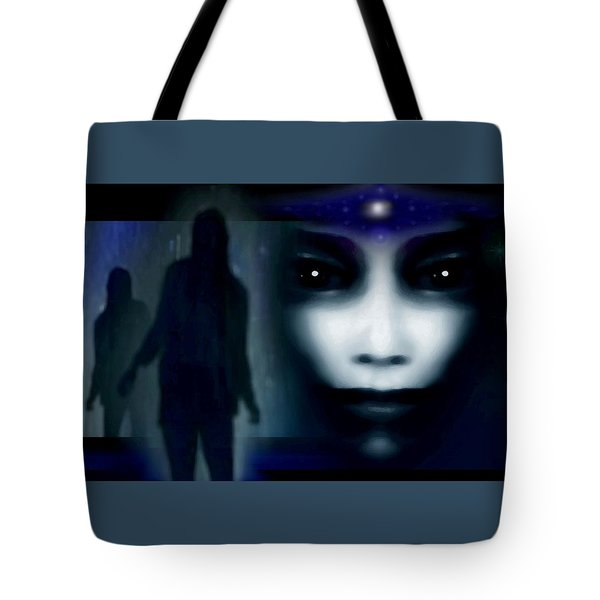 Shadows Of Fear Tote Bag