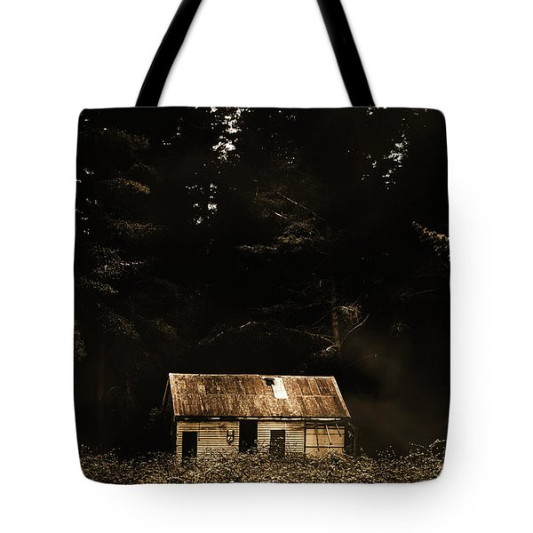 Shadows Of Mornings First Light Tote Bag