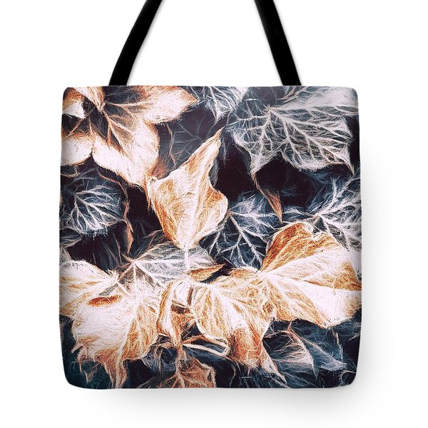 Shadows Of The Ivy Tote Bag