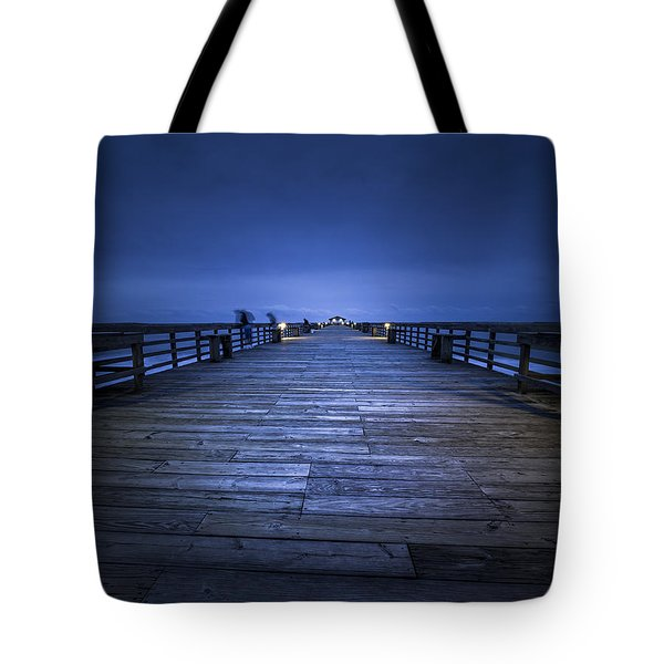 Shadows Of The Morning Tote Bag