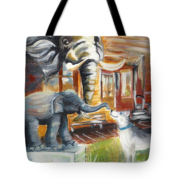 Shadows Of The Past , Hope For The Future Tote Bag
