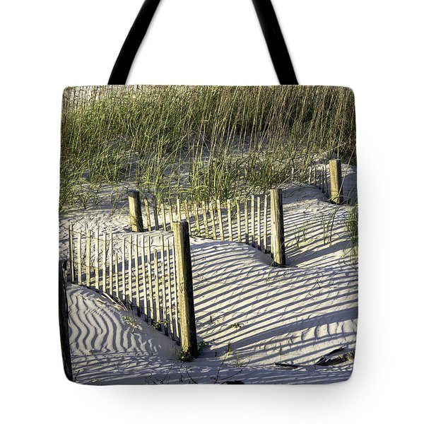 Shadows On The Dune Tote Bag