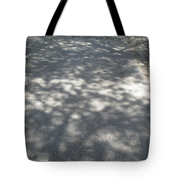 Shadows On The Ground Tote Bag