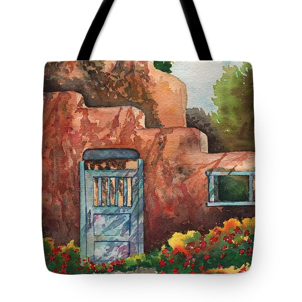 Shadows On The Wall Tote Bag