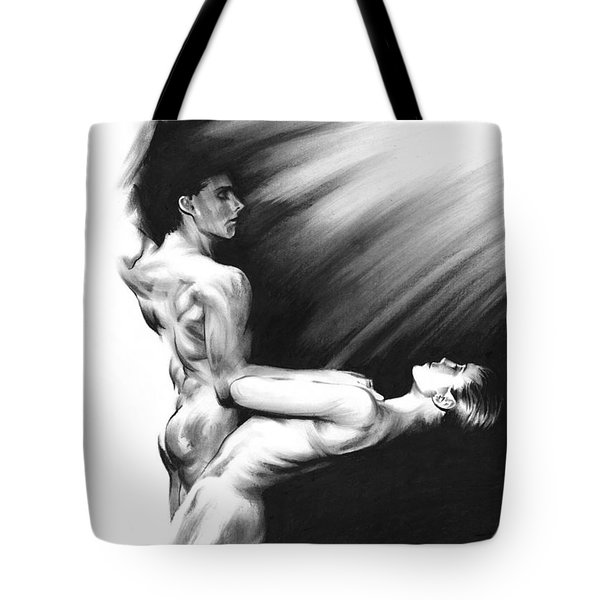 Shadowtwister Formation Tote Bag by Paul Davenport