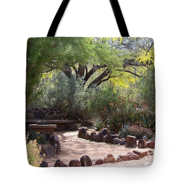 Shady Nook Tote Bag