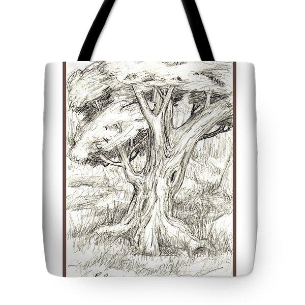 Shady Tree Tote Bag by Ruth Renshaw
