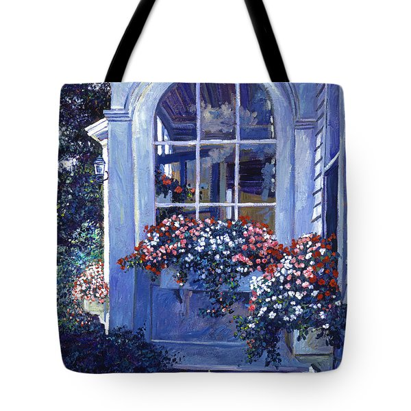 Shady Window Boxes Tote Bag