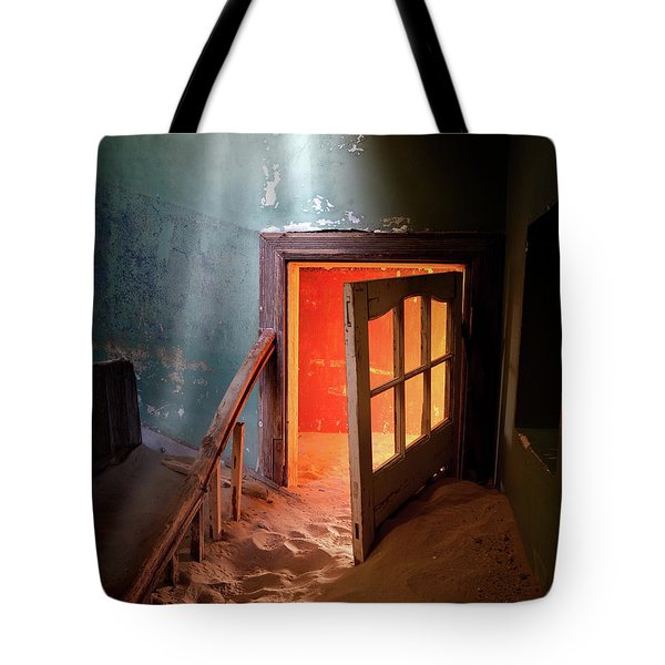 Shaft Of Light Tote Bag
