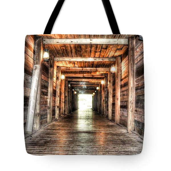 Shafted Tote Bag by Michael Garyet