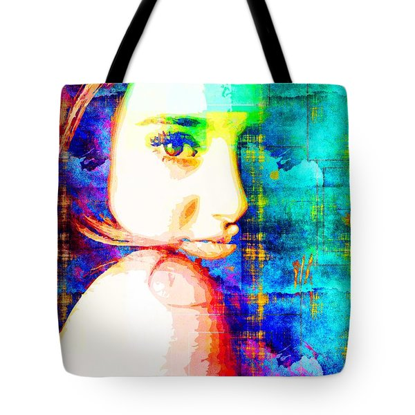 Shailene Woodley Tote Bag