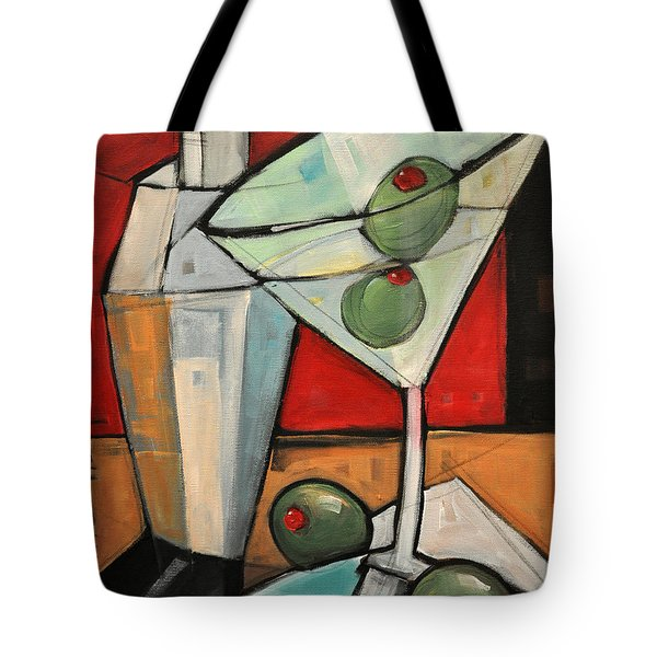 Shaken Not Stirred Tote Bag
