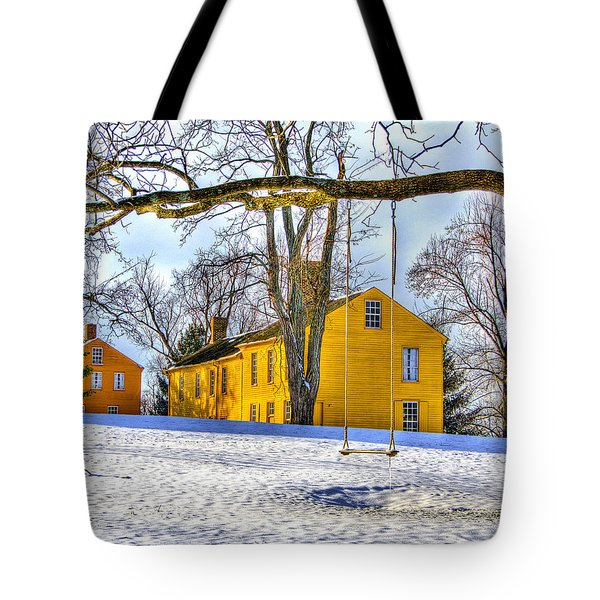 Shaker Swing In Winter 2 Tote Bag