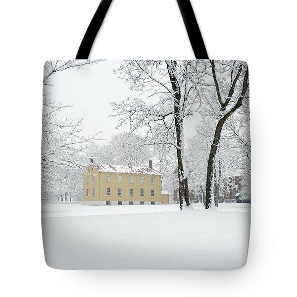 Shaker Winter Tote Bag