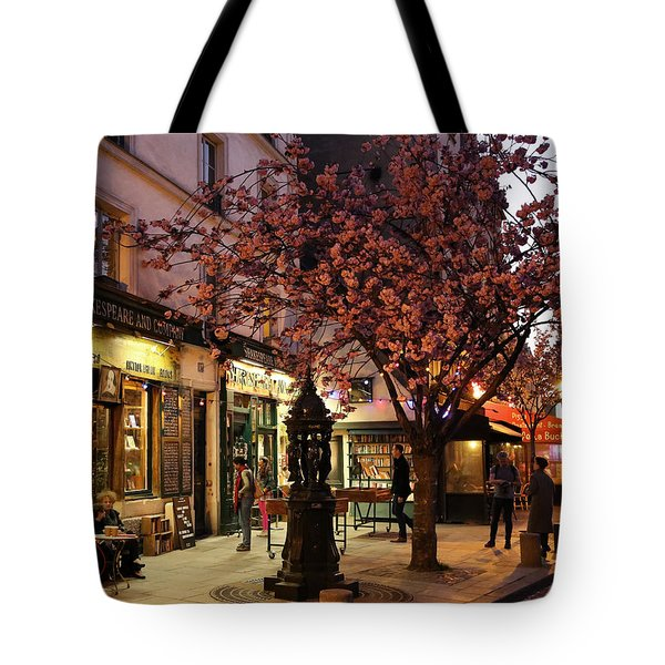 Tote Bag featuring the photograph Shakespeare Book Shop 2 by Andrew Fare