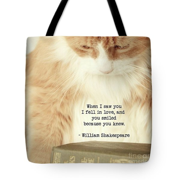 Shakespeare In Love Tote Bag