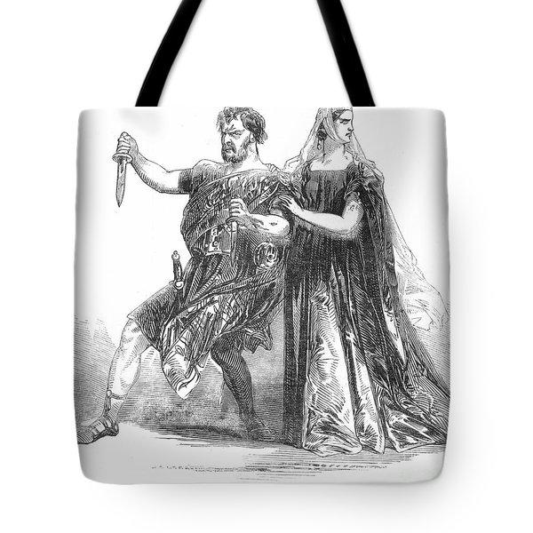 Shakespeare: Macbeth, 1845 Tote Bag by Granger