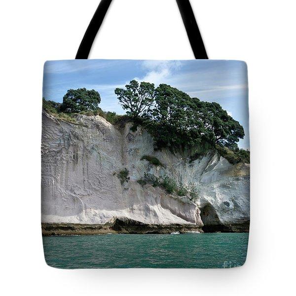Shakespeare Rock, Coromandel, New Zealand Tote Bag
