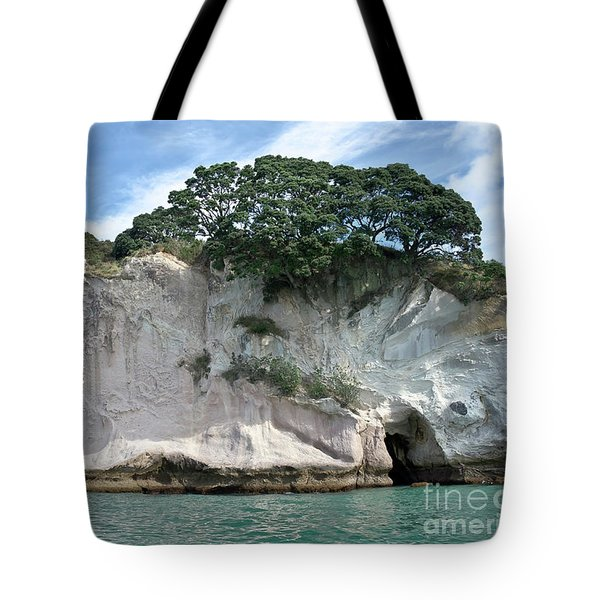 Shakespeare Rock, New Zealand Tote Bag