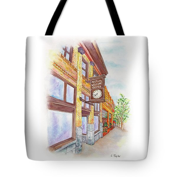 Shakespeare Time Tote Bag