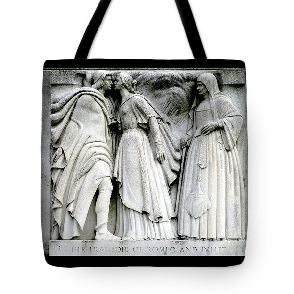 Shakespeares Romeo And Juliet Tote Bag
