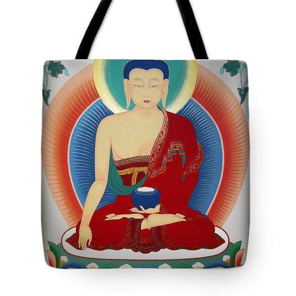 Shakyamuni Buddha  Tote Bag by Sergey Noskov