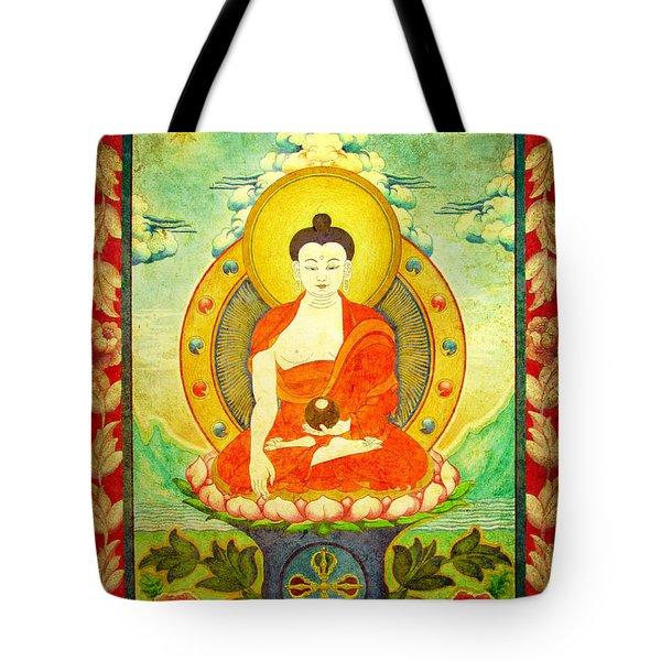 Shakyamuni Buddha Thangka Tote Bag