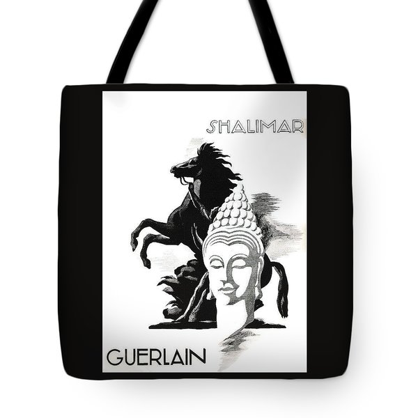 Tote Bag featuring the digital art Shalimar by ReInVintaged