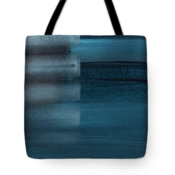 Shallow- Abstract Art By Linda Woods Tote Bag
