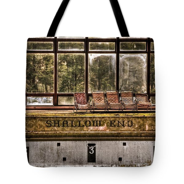 Shallow End Tote Bag