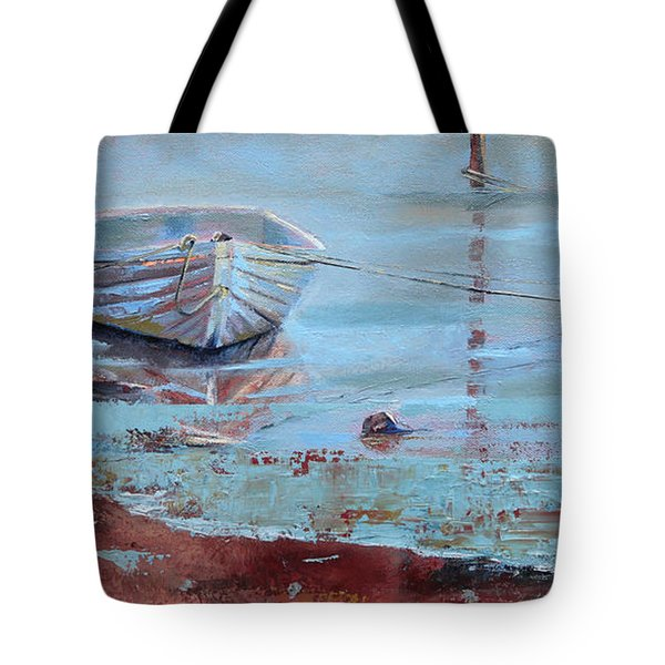 Shallow Tether Tote Bag