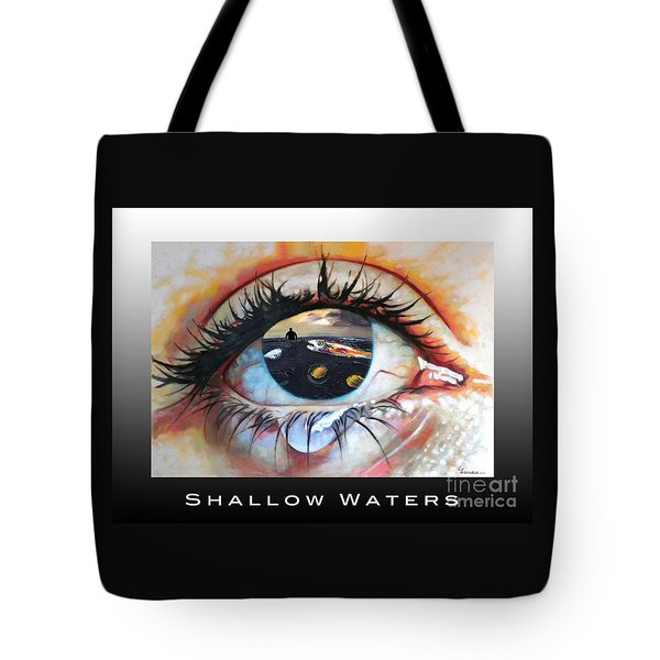 Shallow Waters  Tote Bag