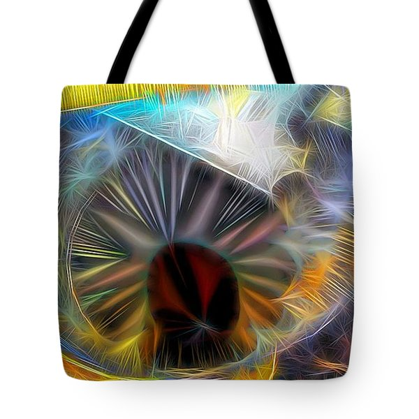 Tote Bag featuring the digital art Shallow Well by Ron Bissett