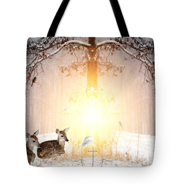 Shalom Tote Bag by Bill Stephens