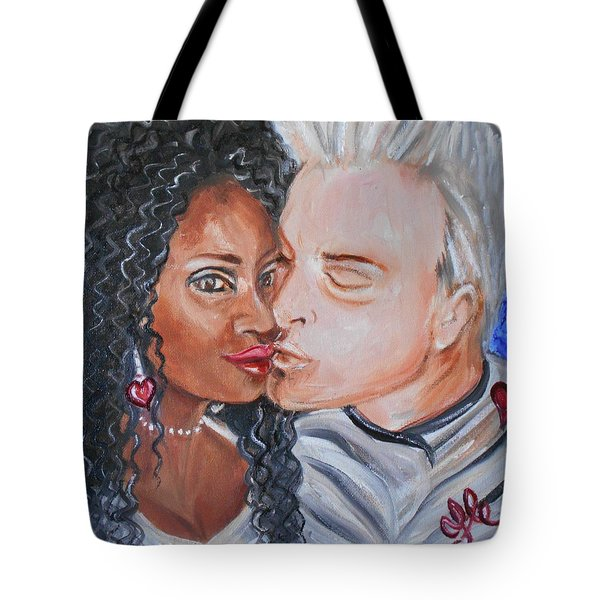 Shalonda  And  Rainer - All You Need Is Love Tote Bag