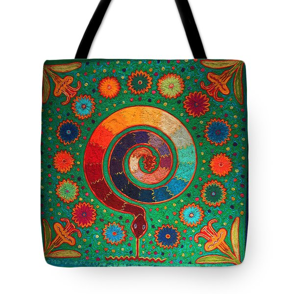Shaman Serpent Ritual Tote Bag