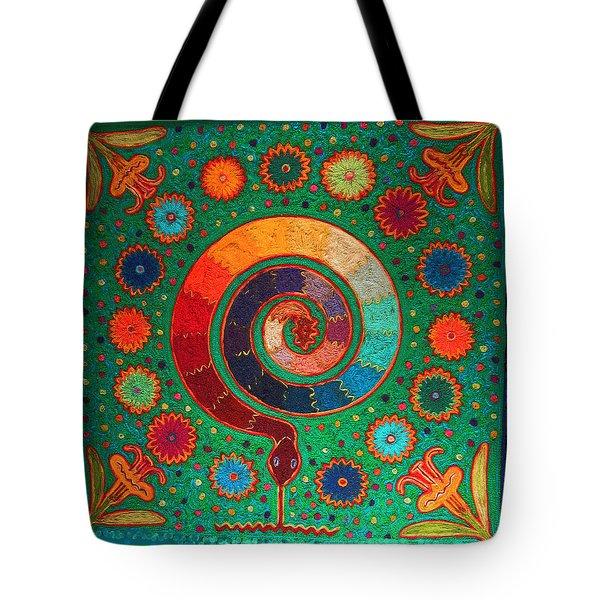 Shaman Serpent Ritual Tote Bag