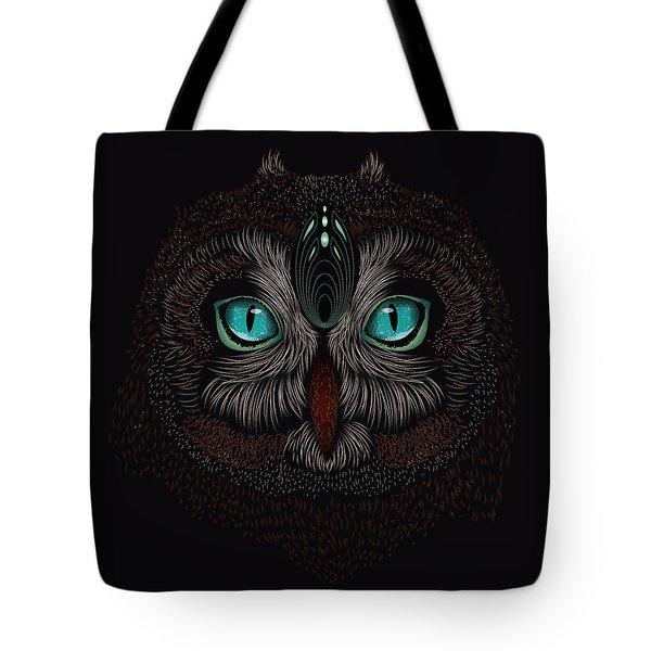 Shaman Spirit Owl Tote Bag
