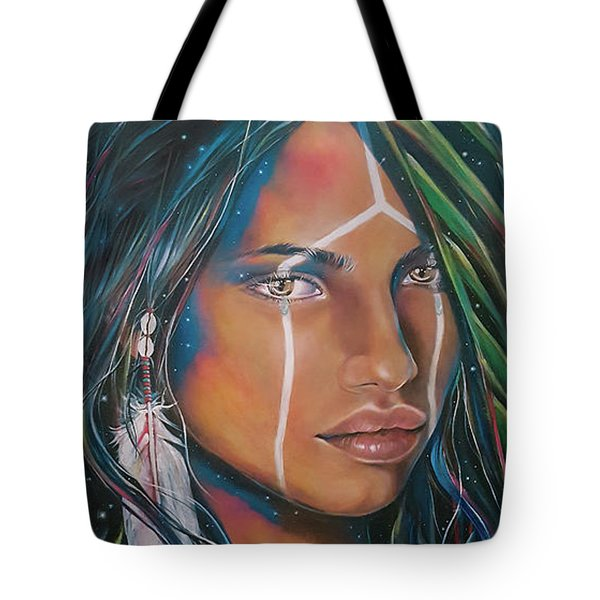 Shamanic Feelher Tote Bag