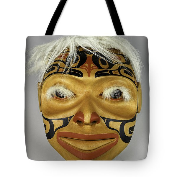 Shaman's Mask Tote Bag
