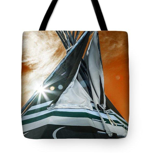 Shamans Tipi Tote Bag