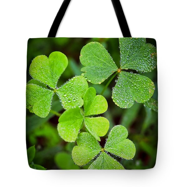Shamrock Green Tote Bag