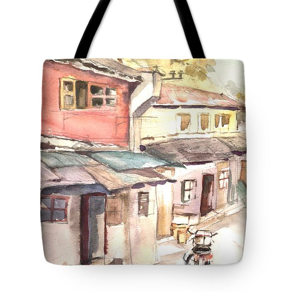 Shanghai Afternoon Tote Bag